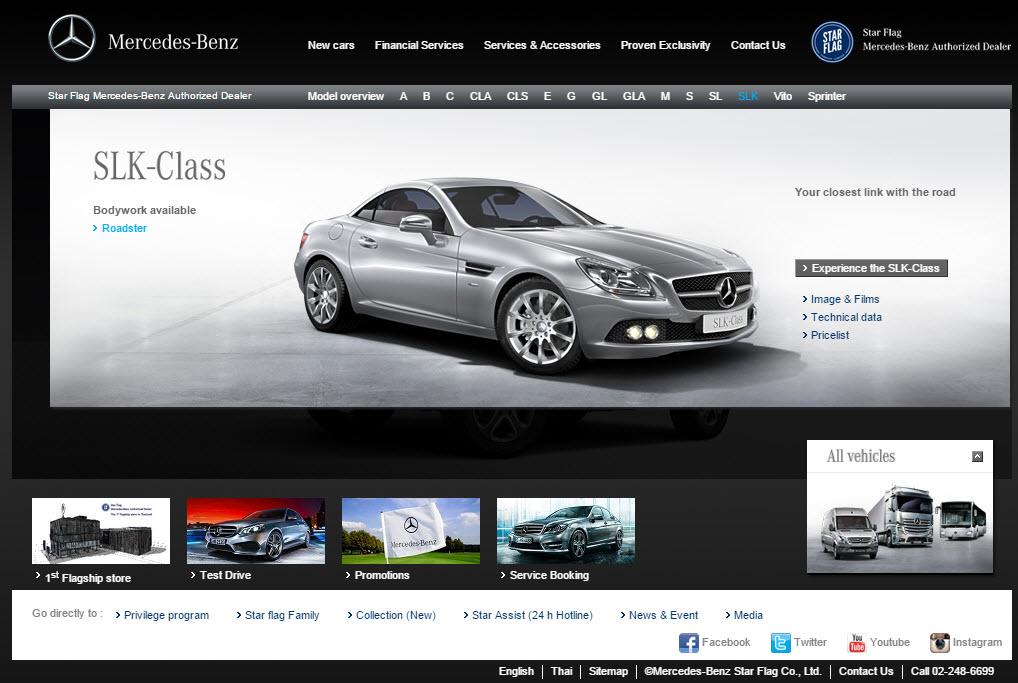 Mercedes Benz Starflag